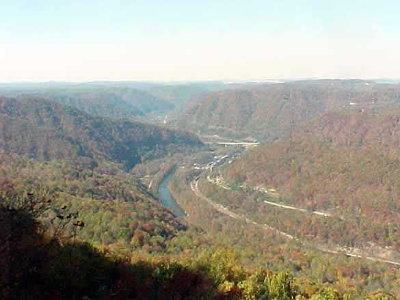 The Breaks Interstate Park is one of two interstate parks in America and
